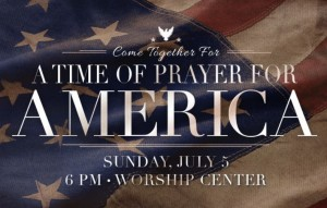 time of prayer for America